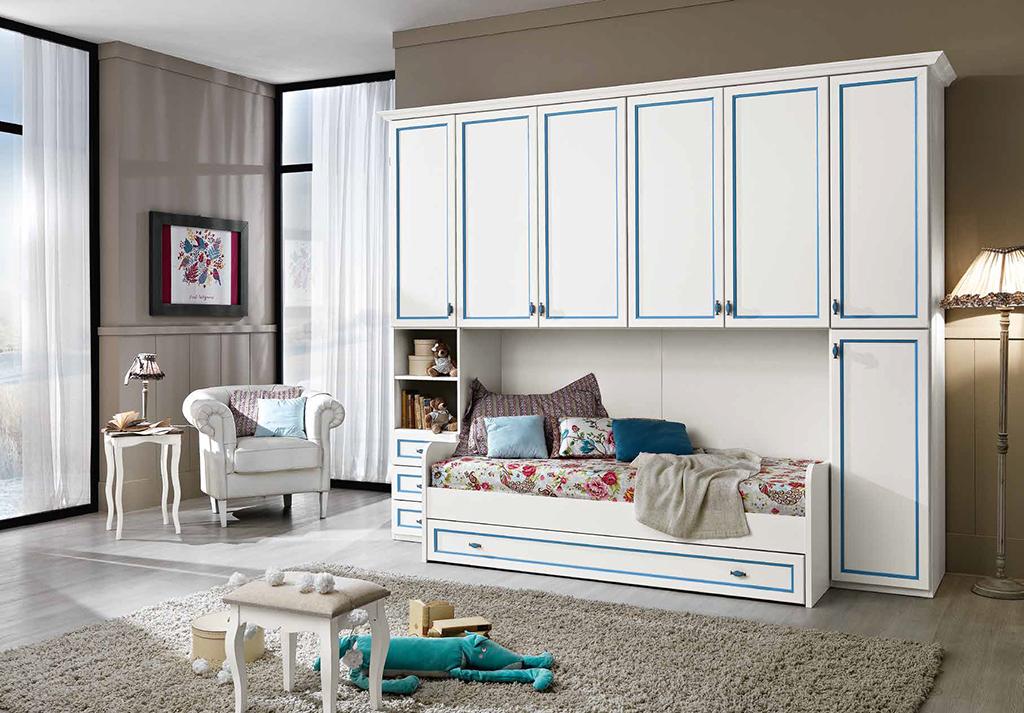 Ponte color col 02 treglia bianco casa - Mirabello mobili ...