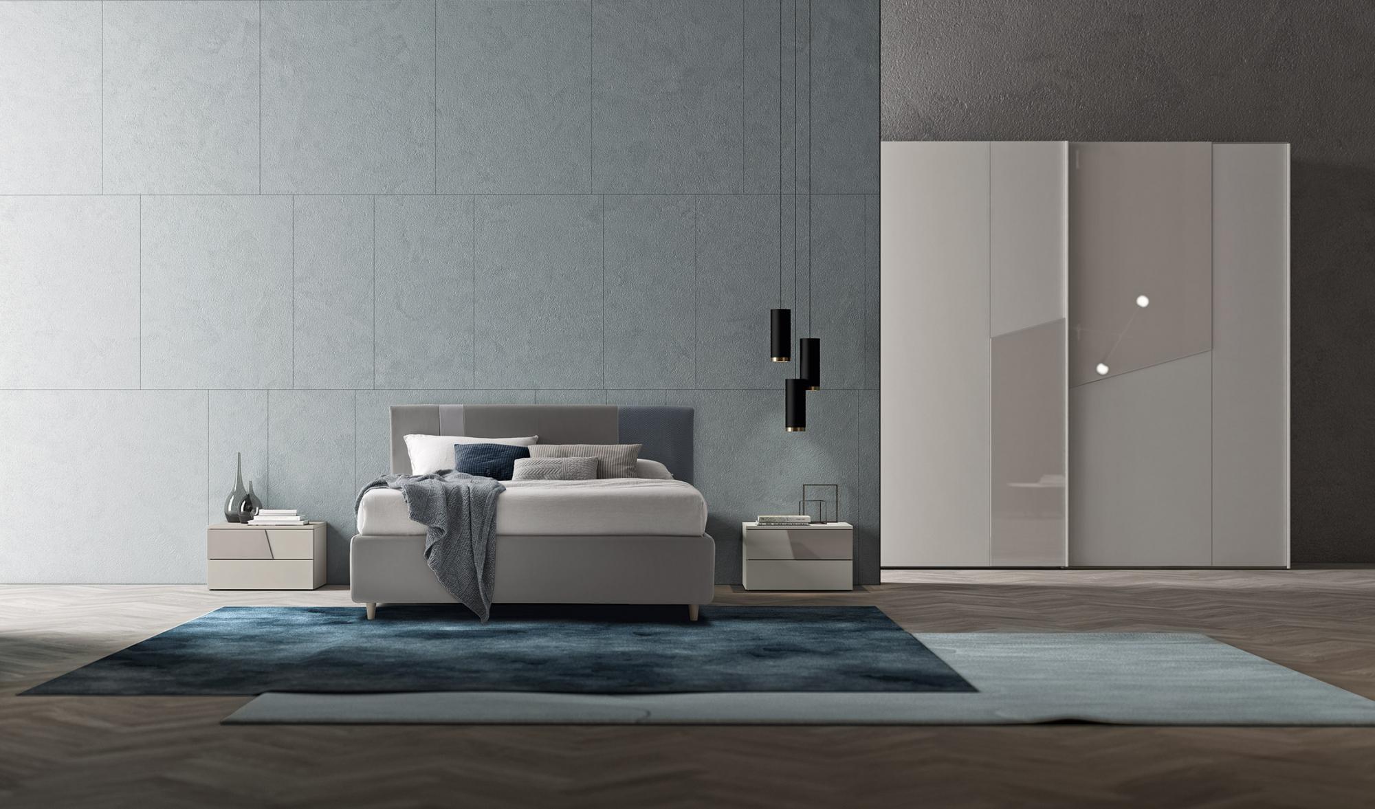 Camera da letto vitality s20 treglia bianco casa for Mobili fazzini catalogo