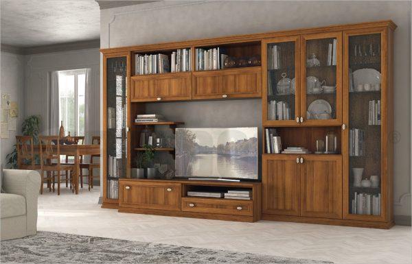 Soggiorno arcadia as04 treglia bianco casa for Mobili x salone