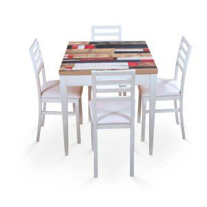 Tavolo Fratino 66 Treglia Bianco Casa