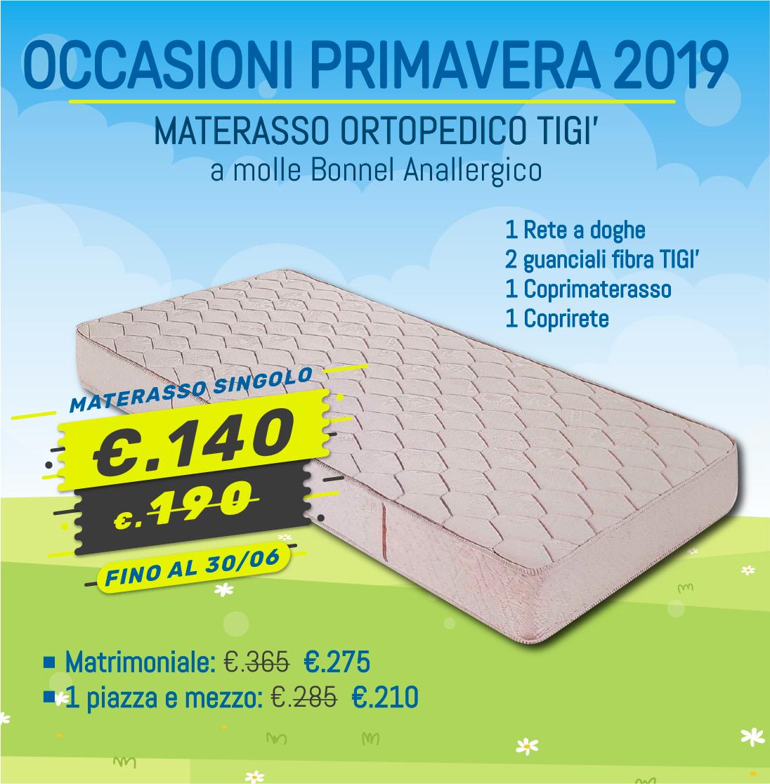 MATERASSO A MOLLE RIVESTITE ANATOMICO | Treglia Bianco Casa